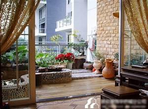 Garden Design Ideas To Balcony Model Home Interiors