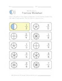Fractions Color Worksheet