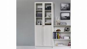 Regal Weiß Hoch : regal anette vitrine in wei hoch breit 80cm breit mit holz glast ren ~ Indierocktalk.com Haus und Dekorationen