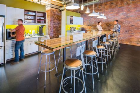 tacoma office kitchen  bre bcra design office