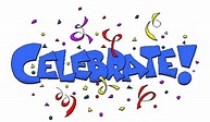 Celebrate celebration party time clip art free clipart ...