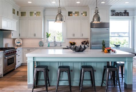 coastal inspired kitchens 20 beautiful themed kitchen designs 2271