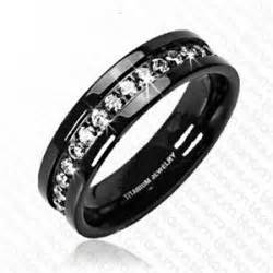 black wedding rings meaning black wedding bands black titanium is the fashion trends wedding bands