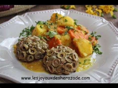 cuisine algerienne cuisine algerienne viande hachée moulée aux olives متبل
