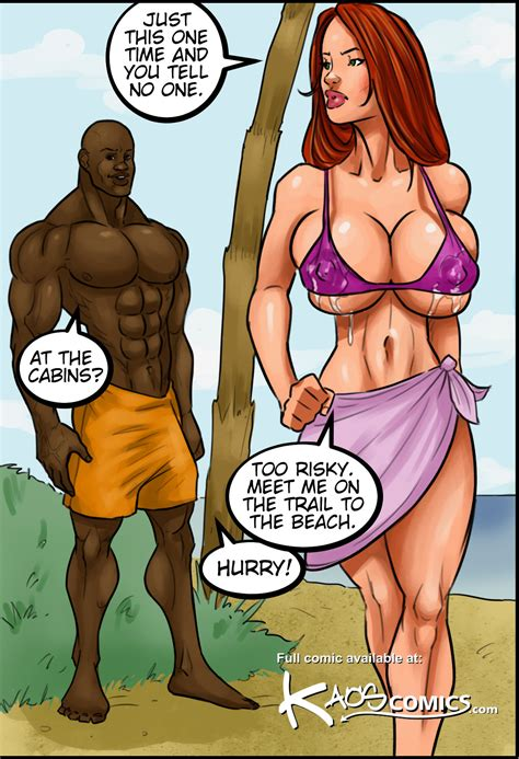 Kaos Comics Interracial Candy