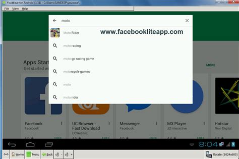 lite app apps for pc
