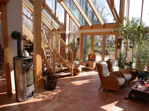 Einfamilienhaus Zweistoeckiger Wintergarten Mit Glasdecke by Winterg 228 Rten