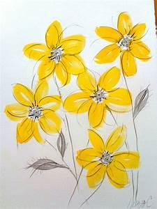 Leinwandbilder Selbst Gemalt : fr hlingsblumen bilder inspirieren f r ein farbenfr hliches design ~ Orissabook.com Haus und Dekorationen