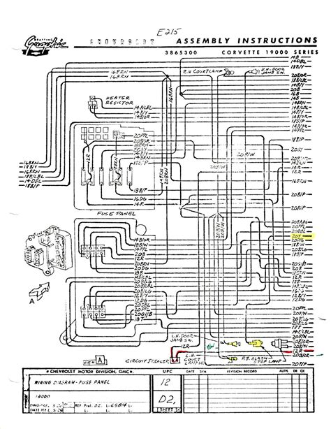 C5 Corvette Power Seat Wiring Diagram by I Need A 1965 Wiring Diagram Corvetteforum Chevrolet