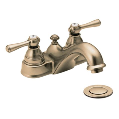 moen bathroom sink faucets brass moen kingsley antique bronze two handle low arc bathroom