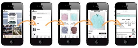clothing apps for iphone albam clothing new iphone app launch poq