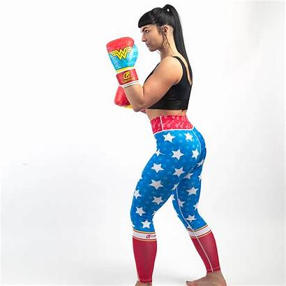 Woman Wonder Boxing Gloves Fusion Gear Fight