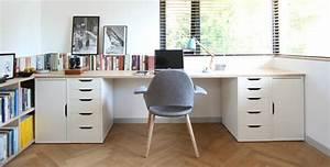Schreibtisch Zwei Personen : gode r d til kontorindretning bolig inspiration ~ Markanthonyermac.com Haus und Dekorationen