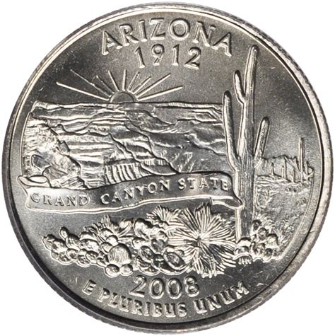 state quarters 2008 arizona state quarter sell silver state quarters