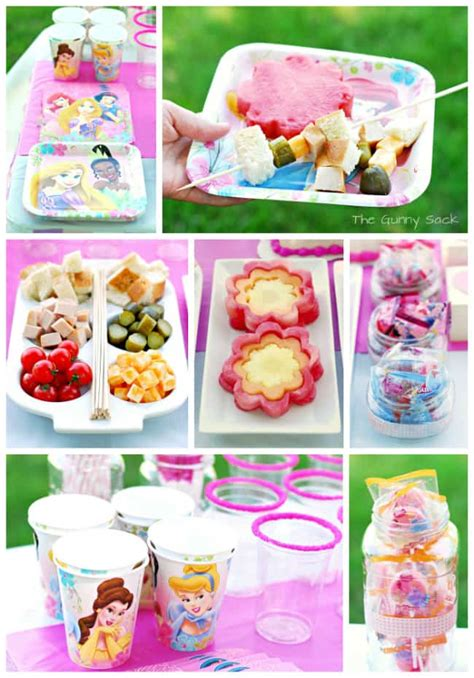 princesse cuisine princess ideas a disney princess celebration