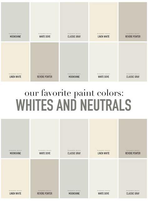 summerhouse designers favorite white  neutral paint
