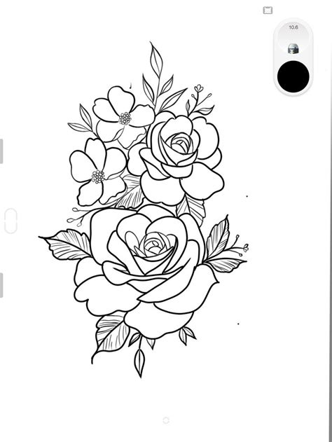 Pin by maxime oosterhof on Tattoo | Rose tattoo stencil