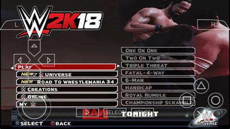 Download the amazing fighting wwe 2k18 for psp/ppsspp emulator (iso/cso) game rom in highly compressed of 330mb size for free. 300MB How To Download WWE 2K18 For Android Device    WWE 2K18 Android PPSSPP Gameplay MODs ...