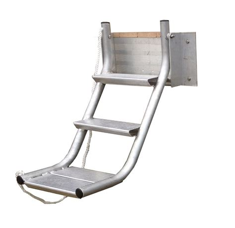 Folding Boat Lift by Retractable Ladder From Wahoo Docks Available From