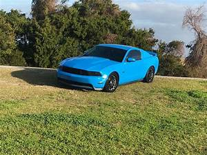 5th gen Grabber Blue 2011 Ford Mustang GT Premium For Sale - MustangCarPlace