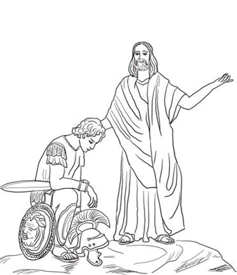 11 best jesus and centurion s servant images on 535 | 1083534db0b011dfc4ad68e26a9cfb73 jesus heals craft coloring sheets