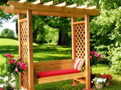 woodworking plans garden arbor