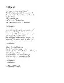 Hallelujah Lyrics