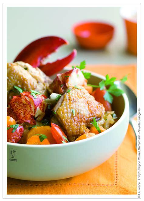cuisine du terroir fran軋is recette fricass 233 e de poulet fran 231 ais au homard