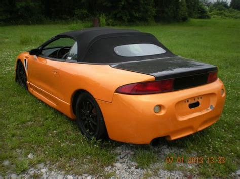 Mitsubishi Eclipse Spyder Kits by Find Used 1997 Mitsubishi Eclipse Spyder Gst Convertible