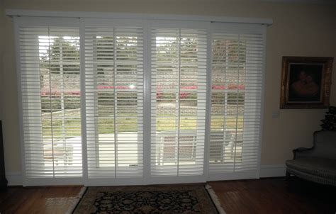 plantation shutters for sliding glass doors door