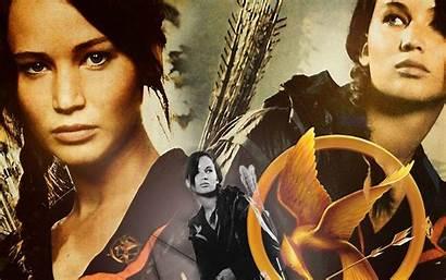 Hunger Games Wallpapers Backgrounds Desktop Katniss Ever