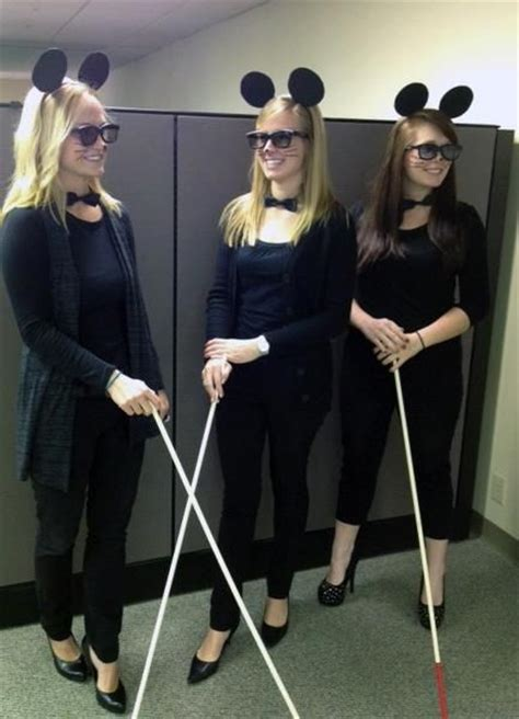 3 blind mice costume creative costume for the office three blind