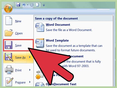 create  newsletter  ms word   steps