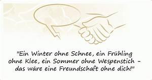Sprüche Winter Schnee : freundschaft spr che einer von 77 spr chen ~ Watch28wear.com Haus und Dekorationen