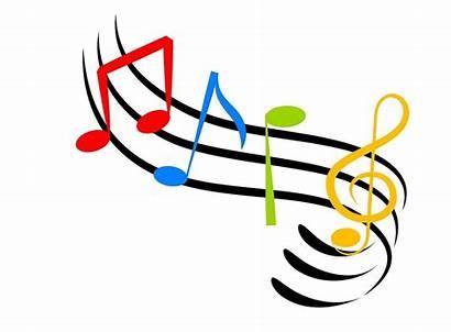 Symbols Notes Clipart Colorful Clip Jazz Genre