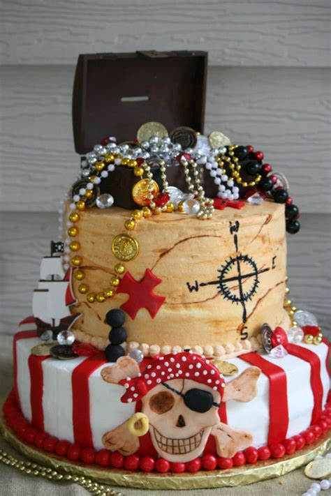 the 25 best pirate cakes ideas on pirate
