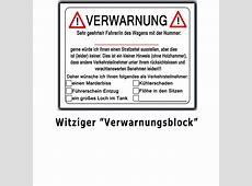 SET 2 x Notizblock Scheisse Geparkt Falschparker Geschenk