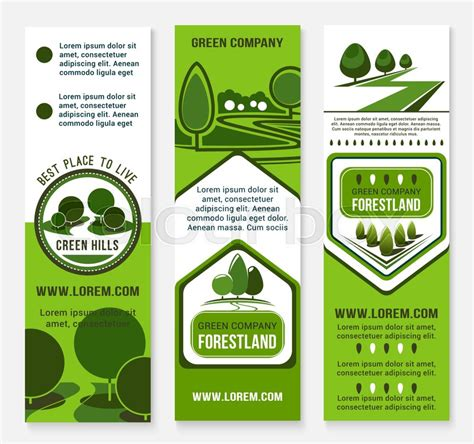 green building  eco sustainable living banner template
