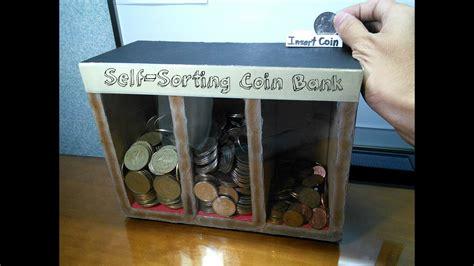 diy  sorting coin bank doovi