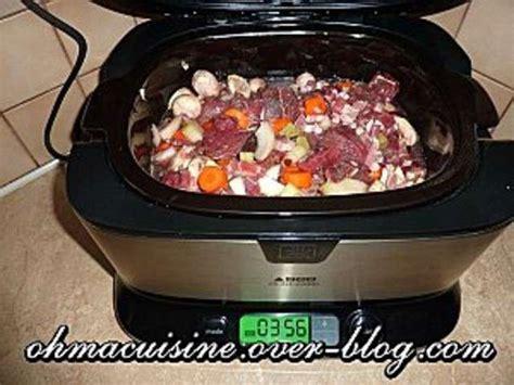 cuisine à la mijoteuse les meilleures recettes de bœuf bourguignon