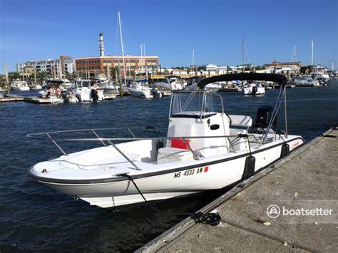Boatsetter Boston by Rent A 2005 22 Ft Boston Whaler Inc 220 Cc In Boston