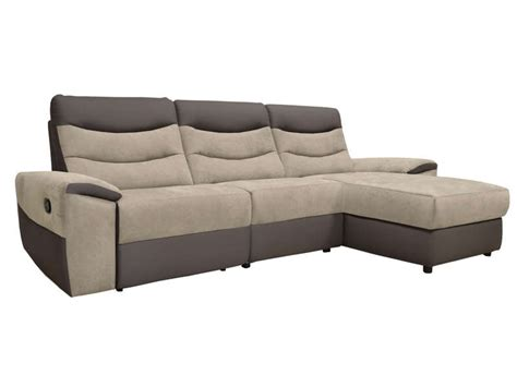 canape angle relaxation canapé d 39 angle relaxation manuel 4 places foster coloris