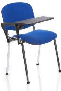 student classroom chair with fixed writing tablet