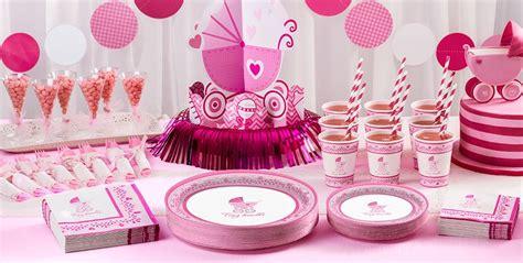 Celebrate Girl Baby Shower Supplies