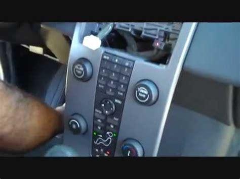 volvo  car stereo removal   repalce