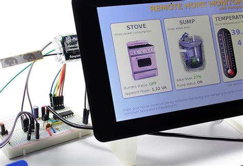 remote home monitoring  raspberry pi  ho