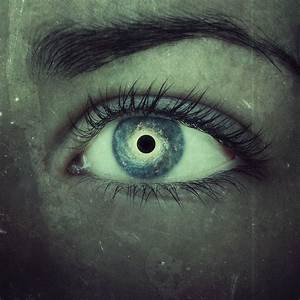 Your eyes, like black holes in the sky. by A7md3mad on ...
