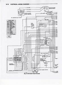 1967 Fsm  9 - Coronet Instrument Panel Wiring