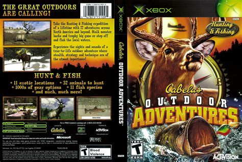 Cabelas Outdoor Adventures XBox Cover Scan