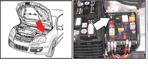 2005 Volkswagen Jettum Fuse Box Fuse Location by Where Is The Fuel Relay Switch Is On A 2005 An 1 2 Jetta 2